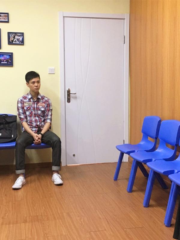 黄葆慧老师在声乐工作室上课