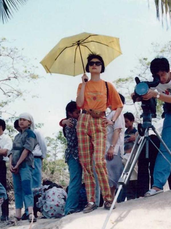 《我们不会忘记》95年海南拍摄